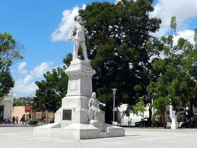 Parque Julio Grave de Peralta en Holguín