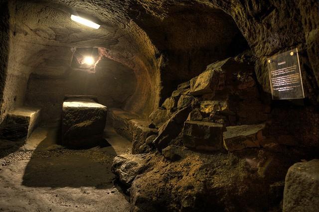 Cueva de Gilmerton cerca de Edimburgo