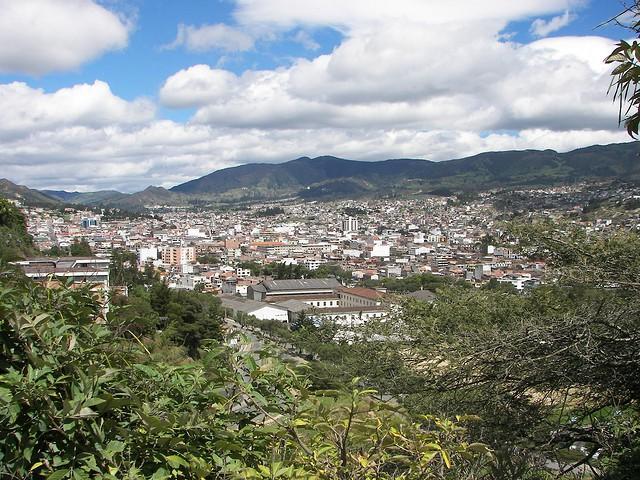 Parque Central en Loja