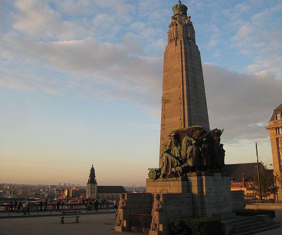 Memorial Infantería en Bruselas