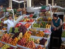 Mercado de San Pedro en Cusco