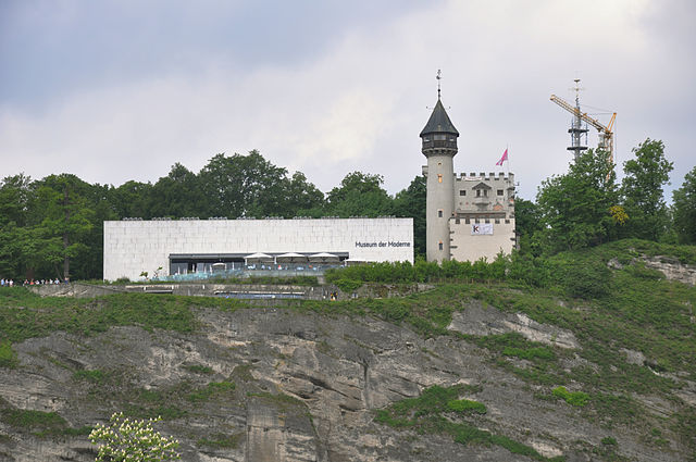 Museo de Arte Moderno Mönchsberg en Salzburgo