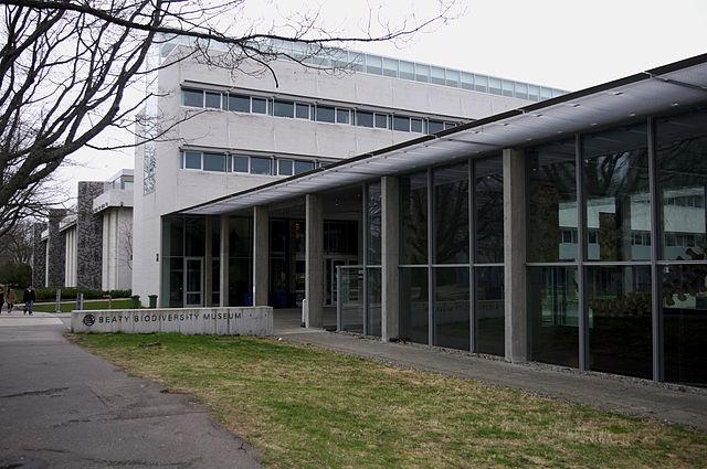 Museo de la Biodiversidad Beaty en Vancouver