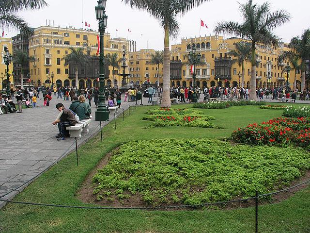 Casa Solariega de Aliaga en Lima