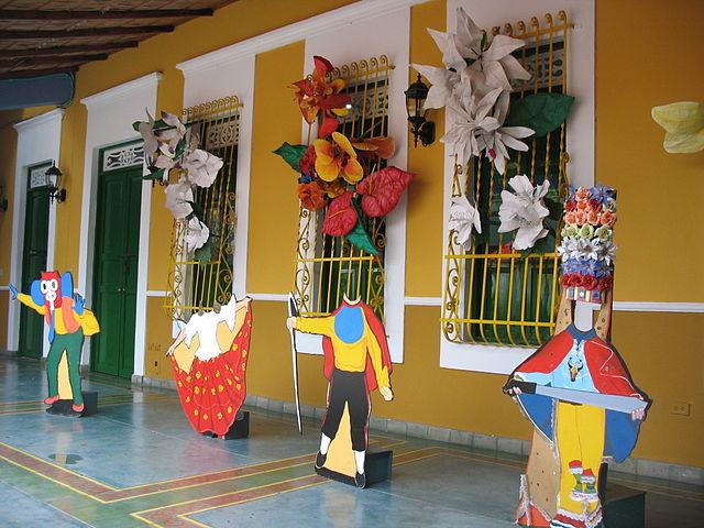 Sala del Carnaval Elsa Caridi en Barranquilla