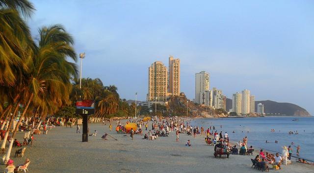Parque de Los Novios en Santa Marta