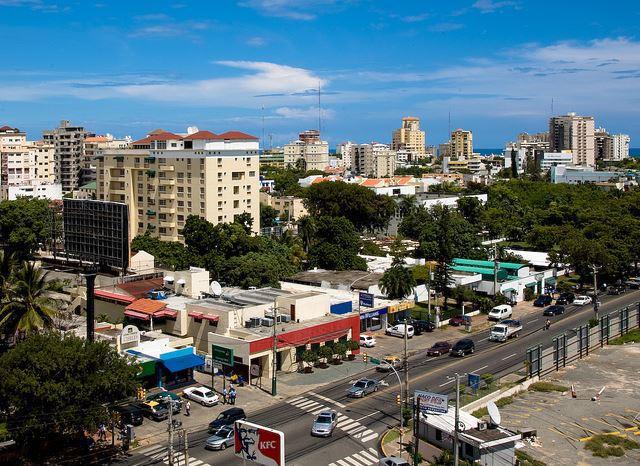 Iglesia de Santa Bárbara en Santo Domingo