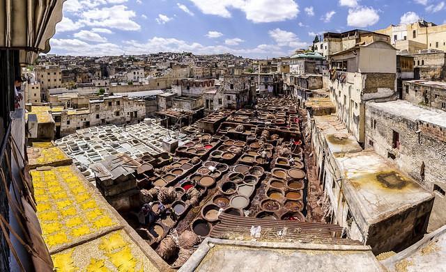 Chouara Tannery, curtidería en Fez