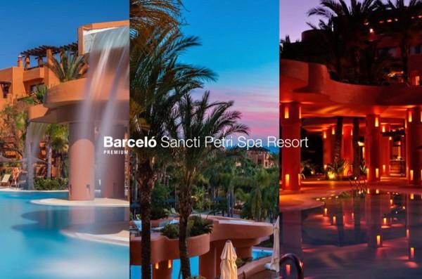 Hotel Barceló Sancti Petri Spa Resort, un jardín botánico a pie de playa