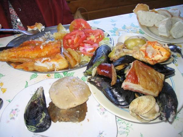 Plato de Chapalele, un manjar típico