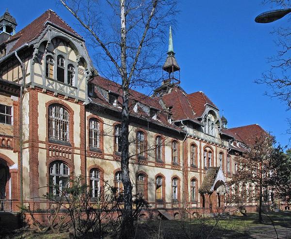 En la localidad de Beelitz hay un escalofriante hospital abandonado