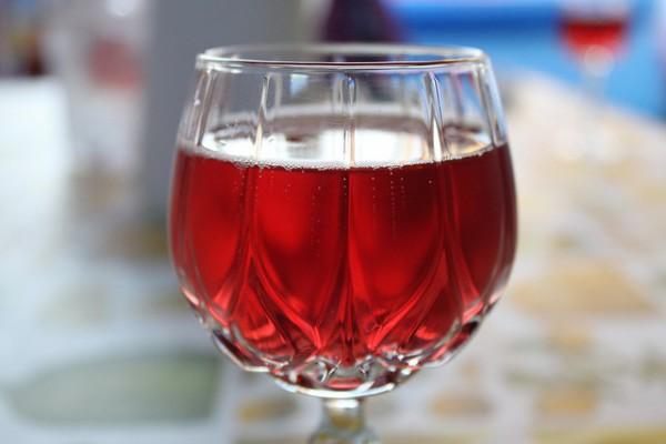 El Lambrusco es un famoso vino italiano