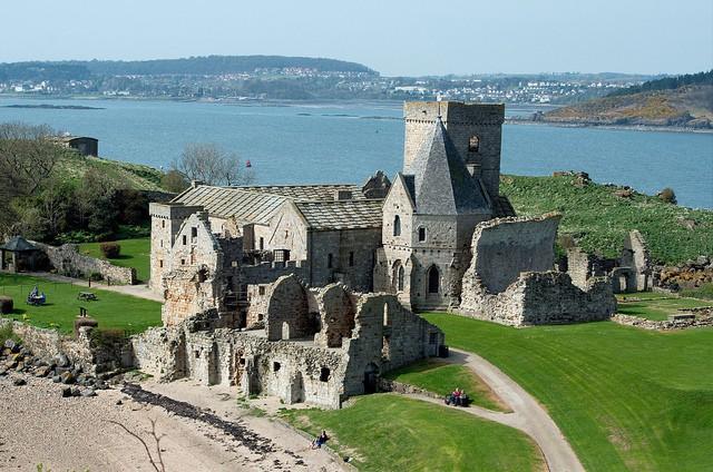 Abadía Inchcolm en Escocia