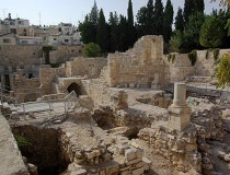 Piscinas de Bethesda en Jerusalén