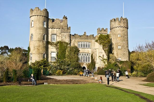 Castillo de Malahide en Dublín