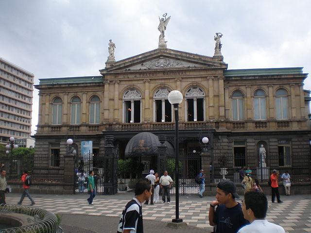 Plaza de la Cultura en San José