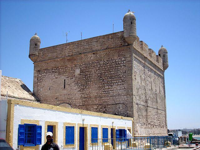 Fuerte de los Portugueses en Essaouira