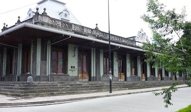 Antigua Estación de Tren al Atlántico en San José