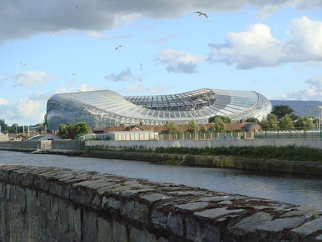 Estadio Aviva en Dublín