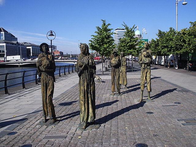 Famine Memorial en Dublín