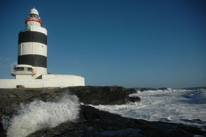Faro de Hook en Irlanda