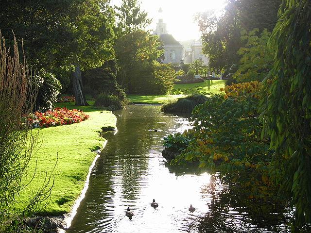 Jardín de las Plantas de Nantes
