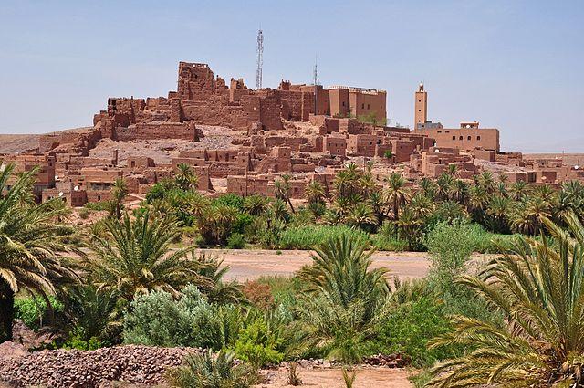 Kasbah de Tifoultoute en Marruecos
