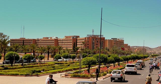 Ensemble Artesanal, centro de artesanías en Marrakech