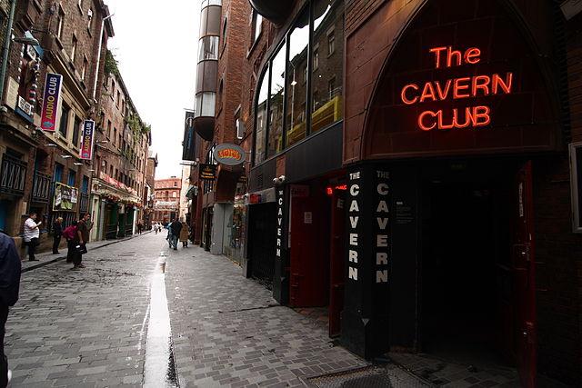 Mathew Street en Liverpool