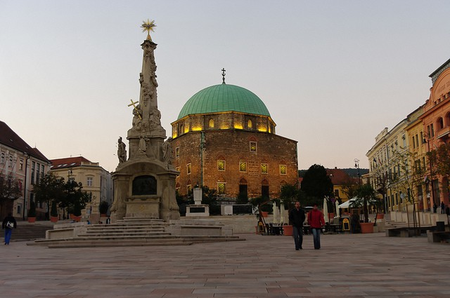 Antigua mezquita Pasha Qasim en Pécs
