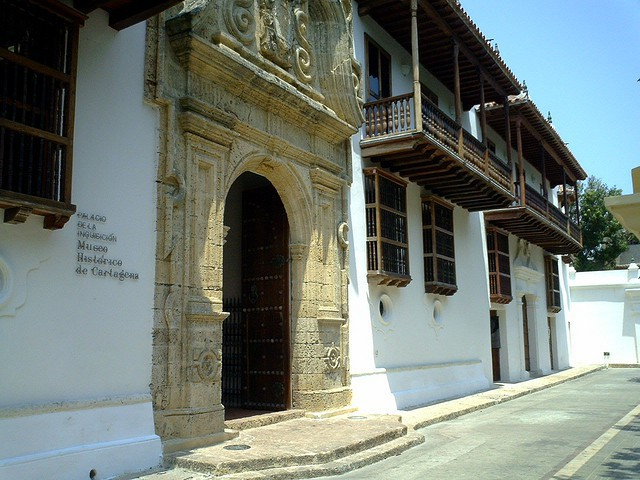 Museo Histórico de Cartagena en el Palacio de la Inquisición