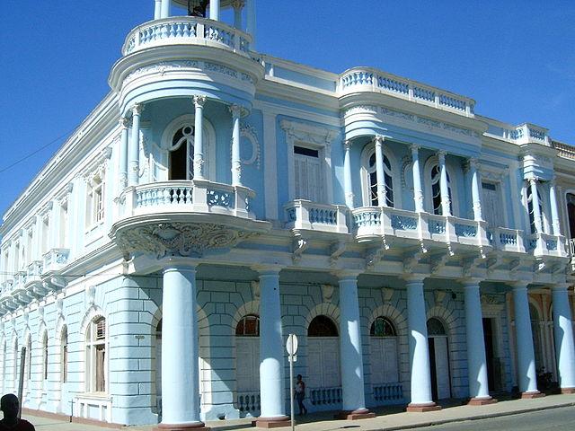 Casa de la Cultura Benjamín Duarte en Cienfuegos