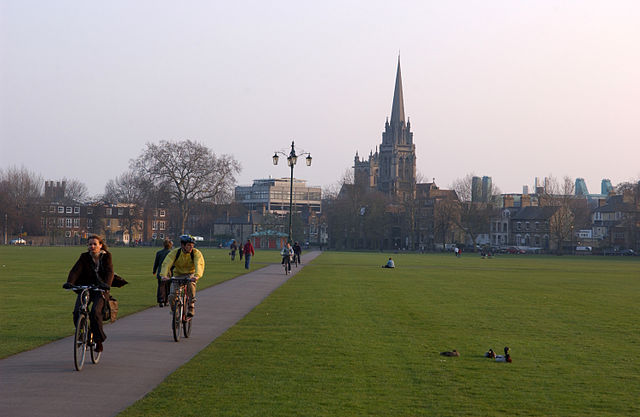 Parker Piece en Cambridge
