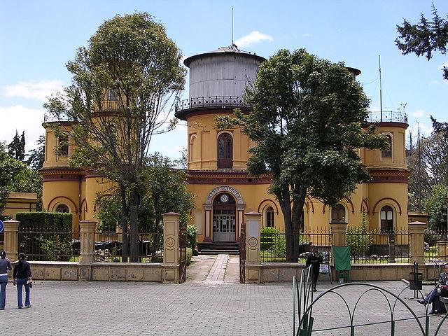 Parque La Alameda en Quito