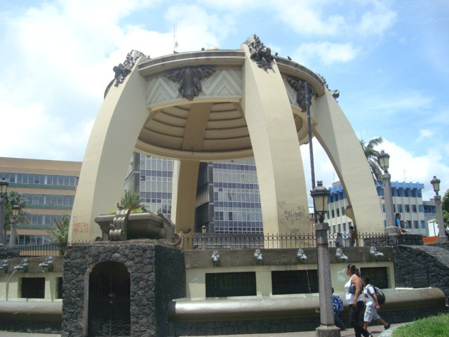Parque Central en San José