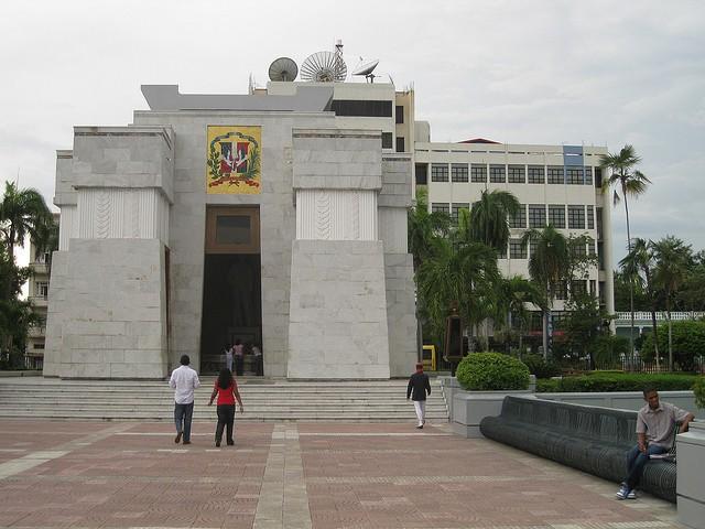 Parque de Independencia en Santo Domingo