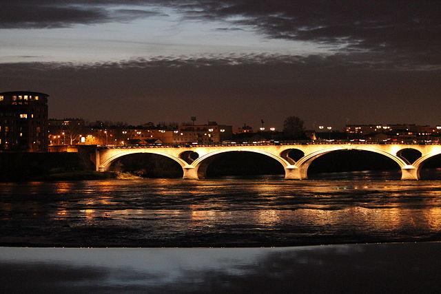 Puente de los Catalanes en Toulouse