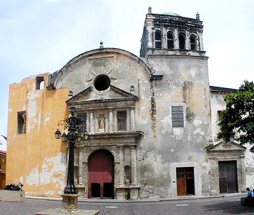 Convento de Santo Domingo en Cartagena de Indias