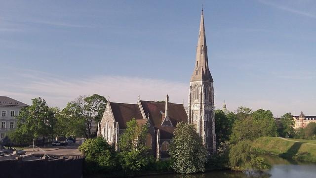 Iglesia St. Alban en Copenhague