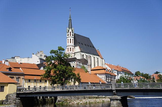 Iglesia de San Vitus en Cesky Krumlov
