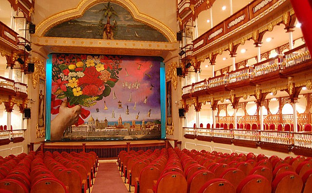 Teatro Heredia en Cartagena de Indias