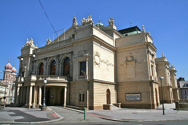 Teatro J. K. Tyl en Pilsen