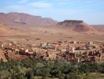 Mercado de Tinerhir en Marruecos