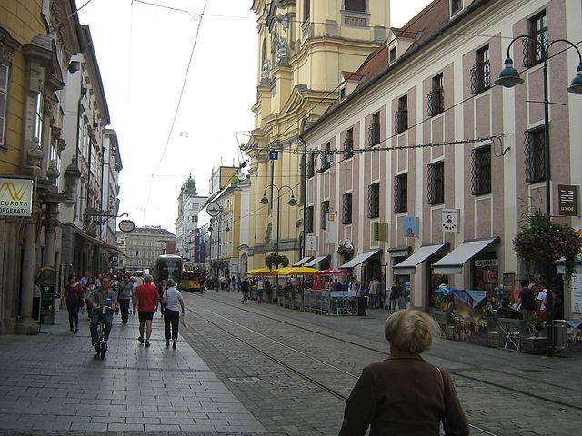 Iglesia de las Ursulinas en Linz