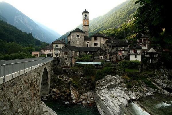 Lavertezzo, un encantador pueblo del valle de Verzasca