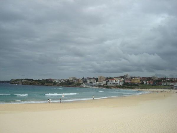 Bondi Beach es una de las playas más famosas de Australia