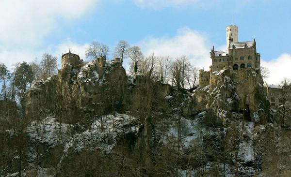 El Castillo de Lichtenstein, a las afueras de Honau