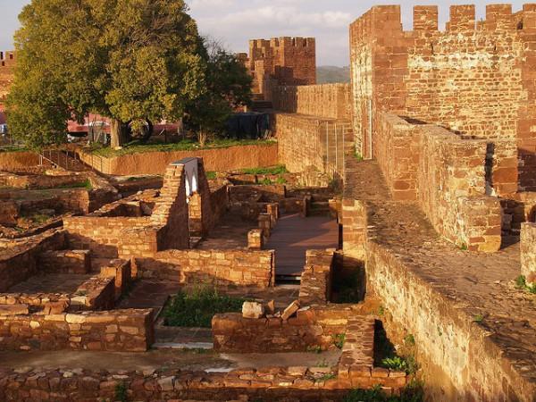 El Castillo de Silves es uno de los monumentos musulmanes más importantes de Portugal