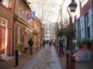 Elferth's Alley, la calle residencial más antigua de Estados Unidos