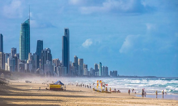 Gold Coast es uno de los principales destinos turísticos de Australia